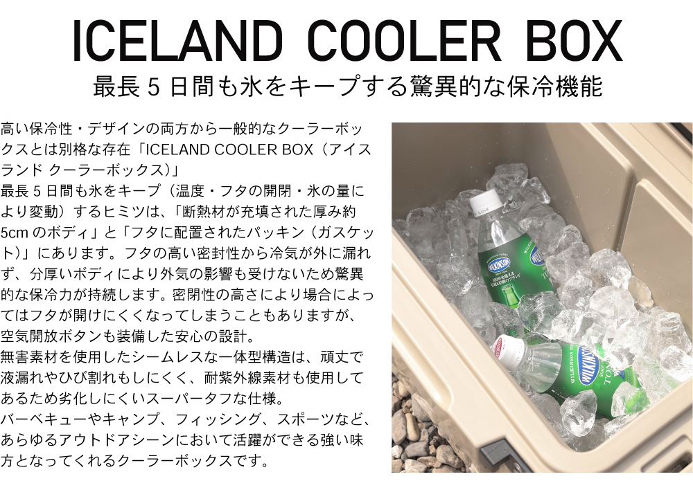 ICELAND COOLERBOX